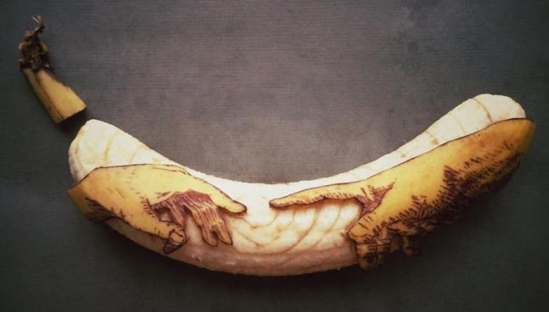 ДНК банана с человеком похожи