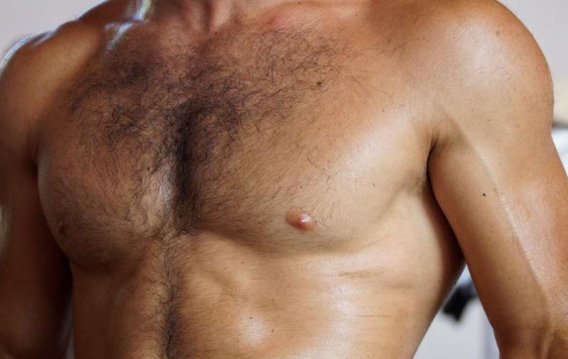 Волосяной покров груди