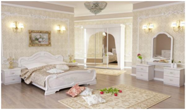 Красивая спальная комната