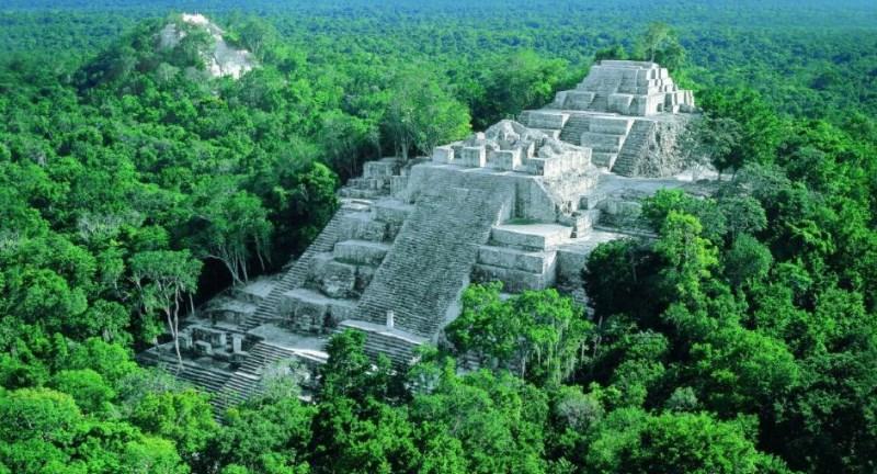 Красивый пейзаж Гватемалы