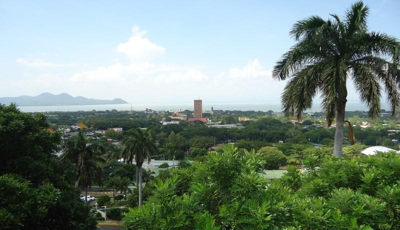 Красивый пейзаж Никарагуа