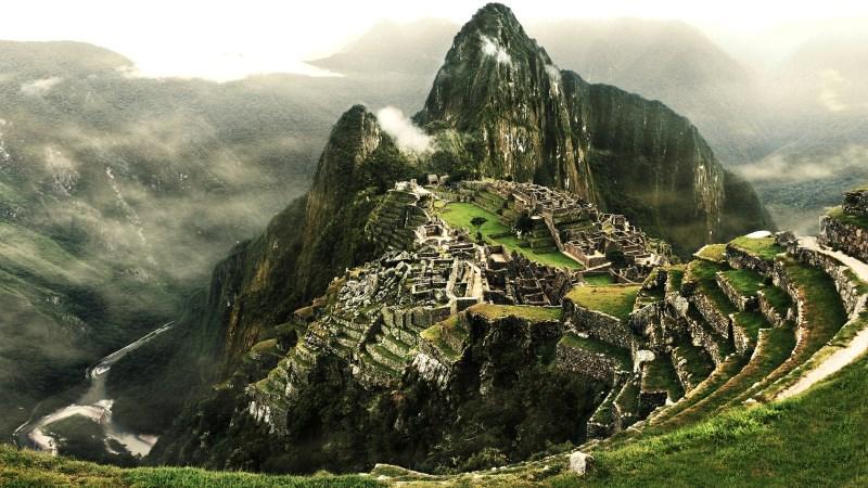 Красивый пейзаж Перу