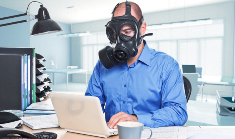 Воздух в офисе