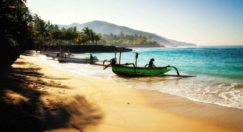 Красивый пейзаж Индонезии