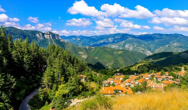 Красивый пейзаж Болгарии