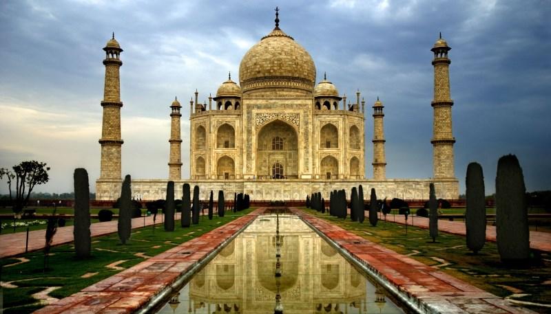 Красивый пейзаж Индии