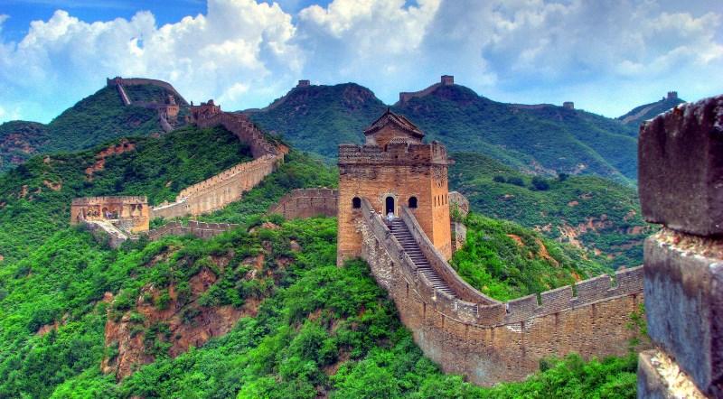 Красивый пейзаж Китая