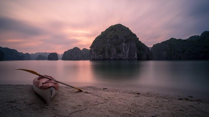 Красивый пейзаж Лаоса