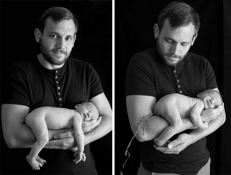 Родители пытались сфотографировать детей, как в модных журналов. Получилось несколько иначе: 21 фото